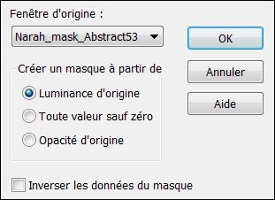 Nuithiver masque narah