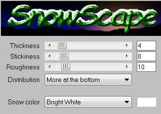 Ro givre snowscape